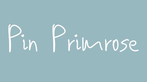 Pin Primrose
